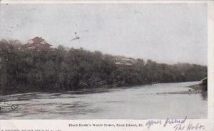 Illinois Rock Island Black Hawks Watch Tower 1907