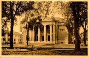 MA - Northampton. Smith College Auditorium    ***RPO - Bangor & Aroostook RR