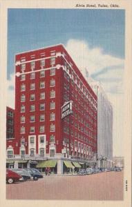 Oklahoma Tulsa The Alvin Hotel Curteich