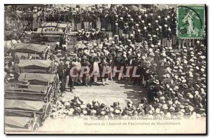 Old Postcard Toulon Funerals of victims of the Crown Speech & # 39amiral of F...