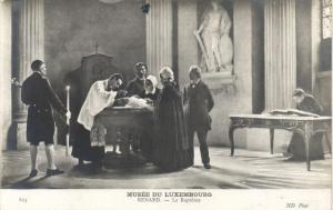 CPA Musée du Luxembourg RENARD - Le Bapteme (307722)