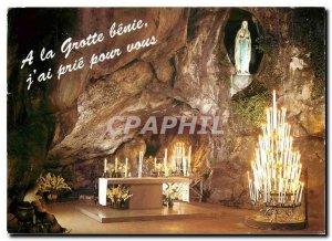 Modern Postcard Lourdes Grotto Miraculous
