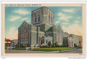 First Methodist Church , BRADFORD , Pennsylvania , 30-40s