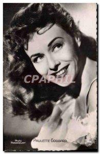 Postcard Modern Cinema Paulette Goddard
