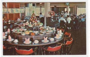 Sea N Sirloin Restaurant Interior Cabana Beach Motel Biloxi Mississippi postcard