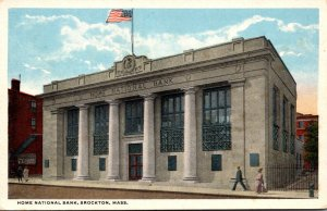 Massachusetts Brockton Home National Bank Curteich