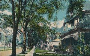 Rochester NY, New York - Homes on South Goodman Street - pm 1912 - DB