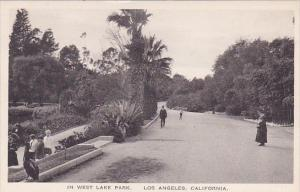 California Los Angeles In West Lake Park