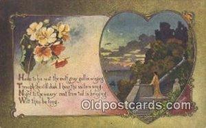 Artist Ryan, C Postcard Post Card Old Vintage Antique Series A-166 1910