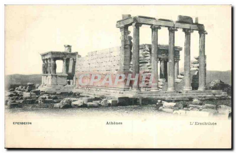 Grece Greece CPA Athenes L'Erechthee