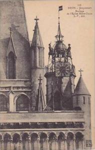 France Dijon Jacquemart Horloge de l'Eglise Notre-Dame