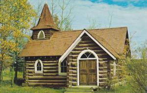 Exterior,  Small Anglican Church,  Hudson Hope,  B.C.,  Canada,  40-60s