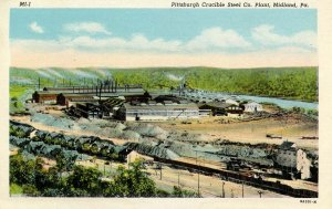 PA - Midland. Pittsburgh Crucible Steel Co
