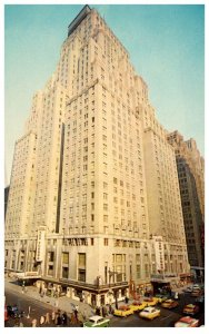 New York  City .  Hotel New Yorker