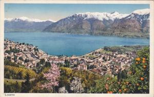 Switzerland Locarno Totalanssicht