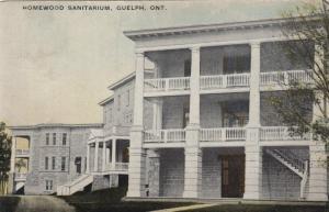 GUELPH , Ontario , 1910 ; Homeward Sanitarium
