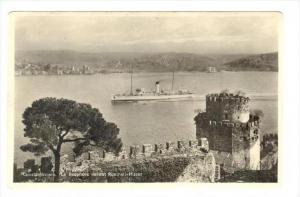 RP  Constantinople - Le Bosphore devant Roumeli-Hissar, Turkey, 00-10s