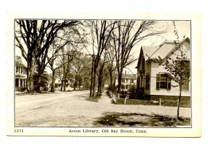 CT - Old Saybrook. Acton Library