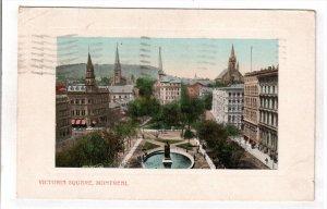 MONTREAL, Quebec, Canada, PU-1909; Victoria Square