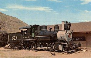 Denver & Rio Grande Railroad Steam Locomotive 583
