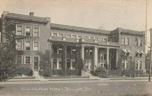 RP: DWIGHT , Illinois , 00-10s ; Livingston Hotel ; C.R. CHILDS