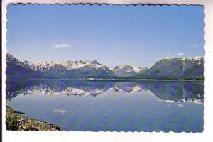 Lake Bennett, White Pass & Yukon Railway, Carcross, Yukon, Photo W Horback