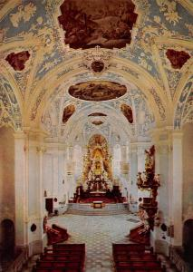 Innenansicht der Basilika Goessweinstein erbaut von Balthasar Neumann