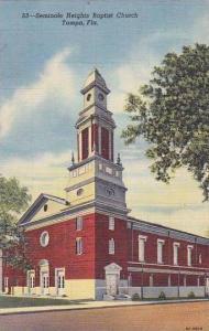 Florida Tampa Seminole Heights Baptist Church