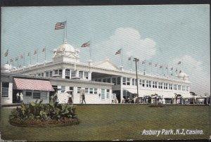 America Postcard - Casino, Asbury Park, New Jersey  DP652