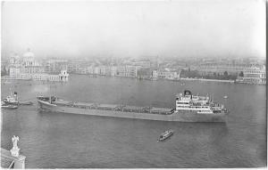 M.s. Ossendrecht Ship Nautica Real Photo Postcard 01.21