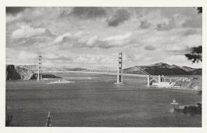 RPPC The Golden Gate Bridge - San Francisco CA, California