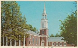 CORINTH, Mississippi, 1950-60s; First Presbyterian Church