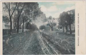 BOLIVAR , Missouri , 1908 ; Brodway , Looking East
