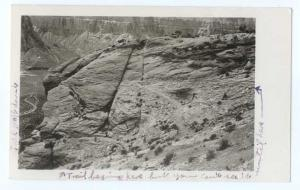 RPPC of an Interesting Unidentified Rock formation with Trail