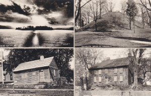 RP MARIETTA, Ohio, 1930-40s, Historical Mound, Island, Land Co. office.
