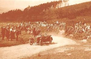 Hill Climb, Caerphilly 1914 sport of hill climbing, auto, car, Nostalgia Reprint