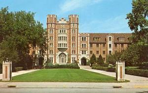IN - Lafayette, Purdue University, Spitzer Court, Entrance to Men's Quad
