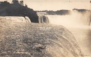 A70/ Niagara Falls New York NY Real Photo RPPC Postcard c1910 Horseshoe Falls 3