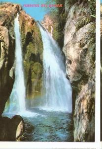 Postal 046542 : Callosa de Ensarria (Alicante). Rio Algar - Cascadas Toll de ...