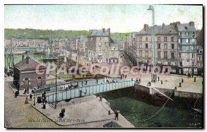 Old Postcard Le Havre Le Pont Notre Dame