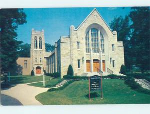 Pre-1980 CHURCH SCENE Long Island - Rockville Center New York NY hs7688