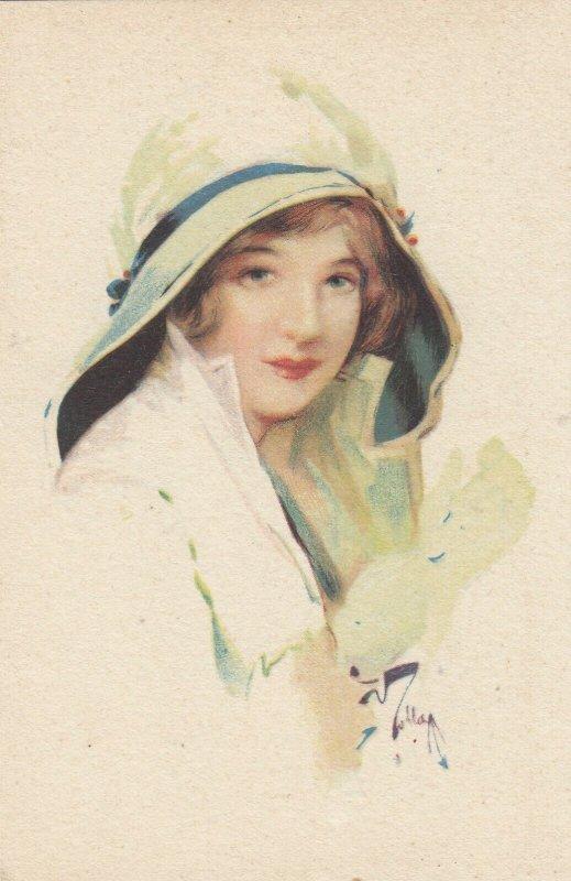 Woman portrait , 1900-10s ; #39A