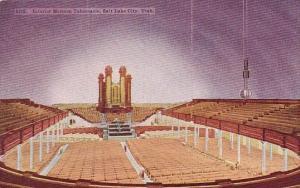 Interior Mormon Tabemacle Salt Lake City Utah