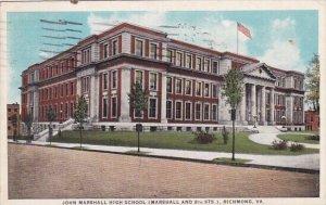 John Marshall High School Richmond Virginia 1927