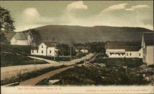 Centre Harbor NH Red Hill Road Bldgs GW Morris c1905 Postcard