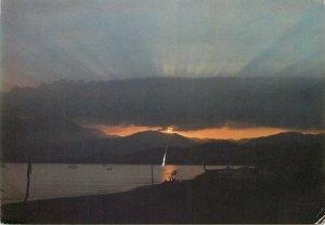 Syria Postcard Lattakia sunset picture view