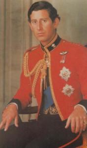 Prince Charles Colonel In Chief Welsh Military Regiment Royal Wedding Postcard