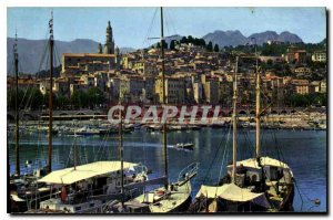 Old Postcard The Wonderful sites of the French Riviera Menton Alpes Maritimes...