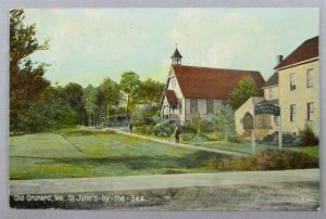 St. John's-By-The-Sea, Old Orchard ME Postcard (#7252)