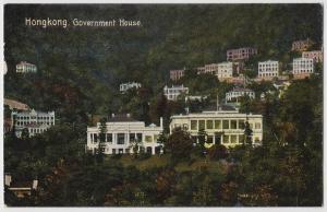 Hong Kong (China) Government House ca. 1910